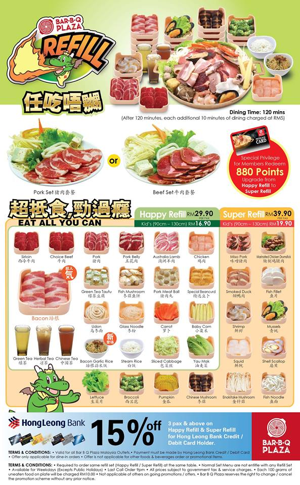 malaysia best food and beverage restaurant promotion and review
